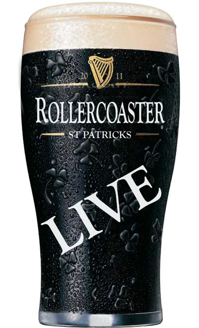 St Patricks Rollercoaster Guinness