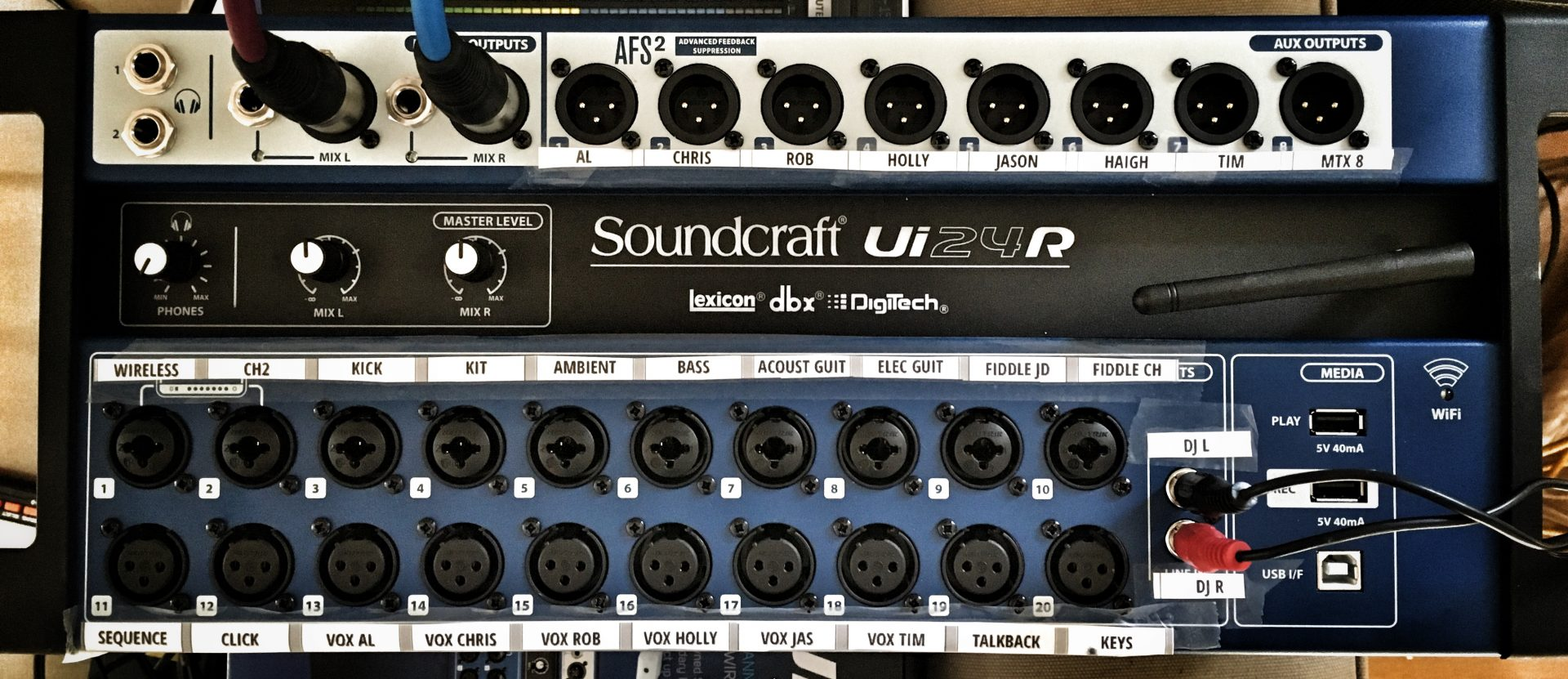 The Soundcraft Ui24R - Rollercoaster goes wireless