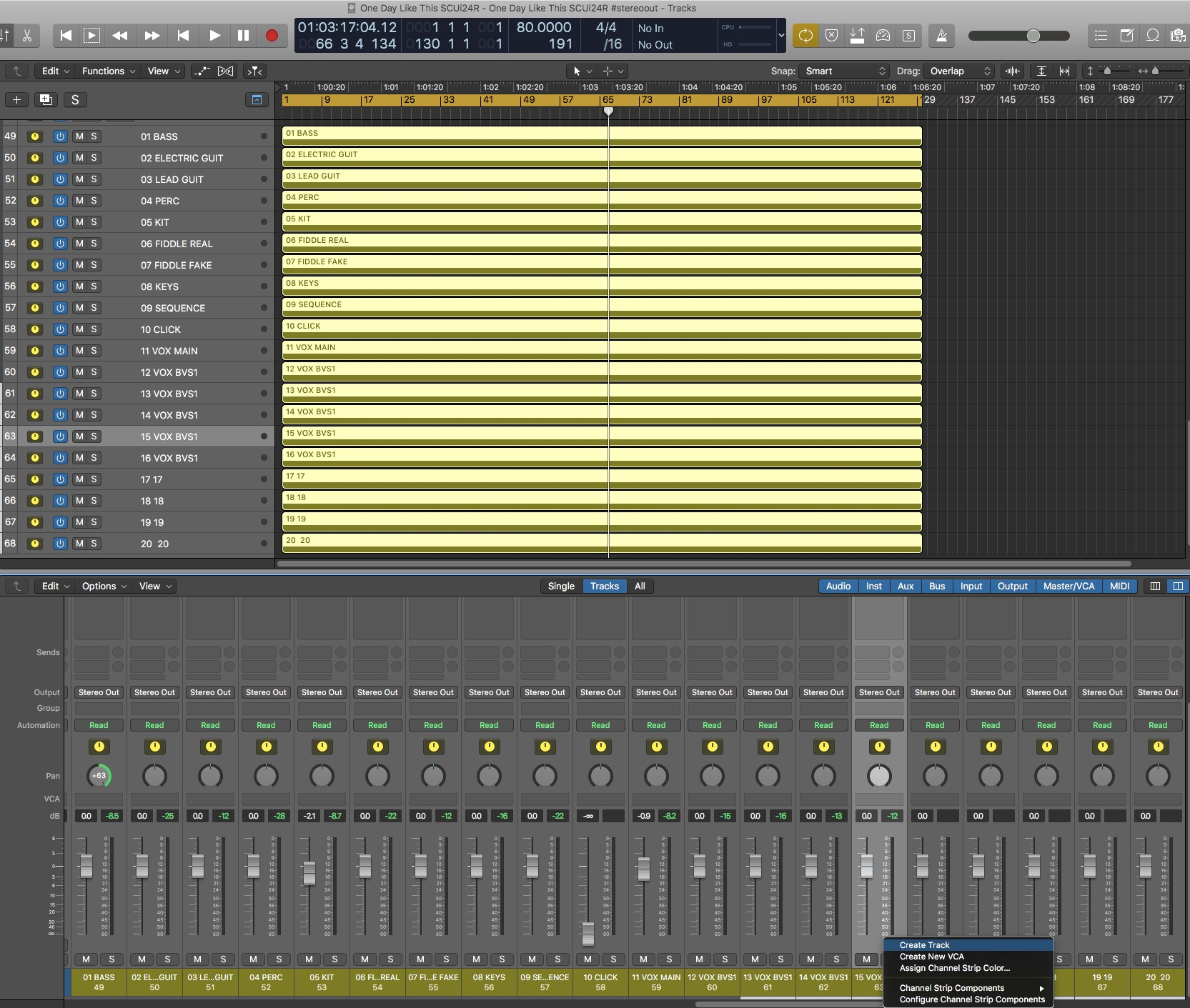 Creating a Multitrack USB from an External mix on the Soundcraft